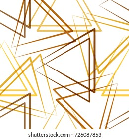 Abstract seamless triangles pattern