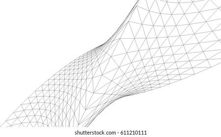 abstract shape structure