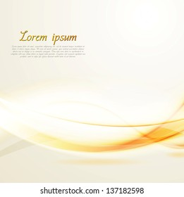 Abstract shiny wavy background. Vector design eps 10