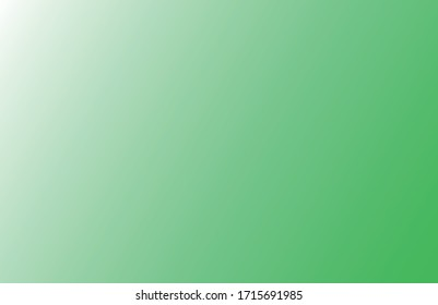 Abstract simple green blue background gradient