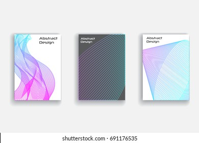 Abstract simple template for brochure,mockup. Abstract geometric background. Line abstract mockup. Linear pattern. Abstrct banner.
