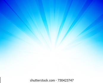 abstract sky blue background
