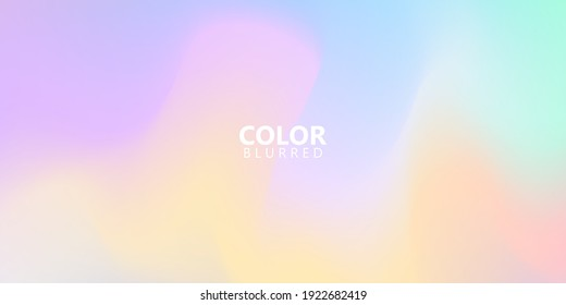 Abstract sky Pastel rainbow gradient background Ecology concept for your graphic design,
