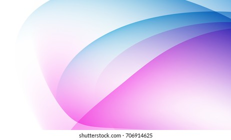 Abstract Skyblue and Purple gradient curve background