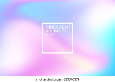 Abstract smooth background. Iridescent background