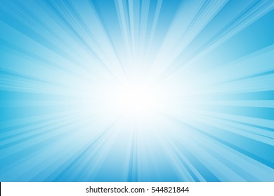 Abstract smooth light blue perspective background.