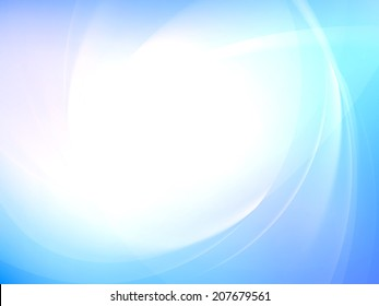 Abstract smooth light curves vector background. EPS 10 vector file included