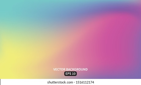 Abstract smooth mesh background, colorful blurred design,Vector illustration EPS10