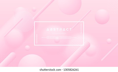 Abstract soft pink vector background for cosmetic posters, brochures, banners, covers and others.
