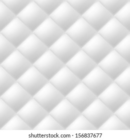 Abstract soft textured background with squares in white. Close-up view.
