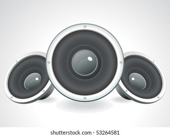 abstract sounds set vector illustration