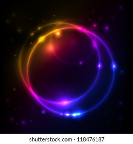 Abstract Space background for design, EPS10 Vector background