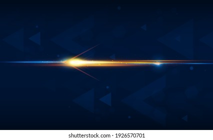 Abstract speed Light out technology background Hitech communication concept innovation background,  vector design
