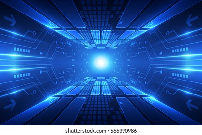 Abstract speed technology concept. vector background