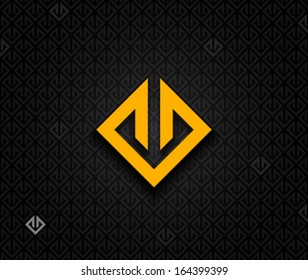 Abstract square element