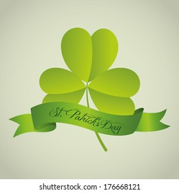 Abstract St. Patrick's Day holiday special background