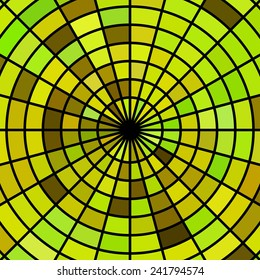 abstract stained-glass mosaic background