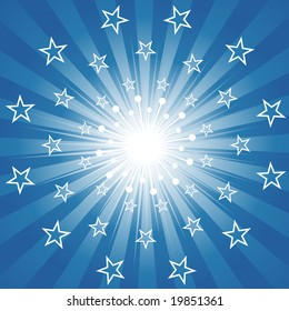Abstract Star Burst (Vector)