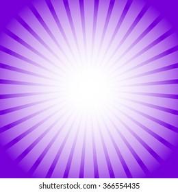 Abstract starburst, sunburst background. Radiating, converging lines, rays. Vector.