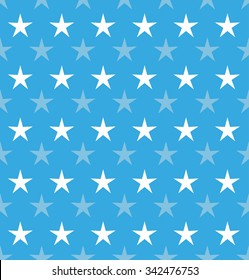 Abstract stars. Seamless vector background