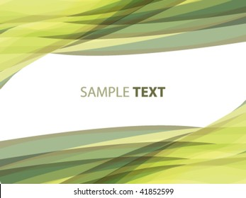 abstract striped background in olive tones, vector illustration