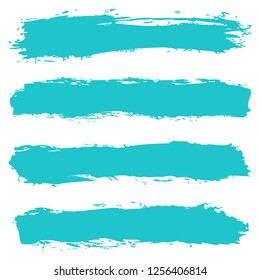 Abstract striped background with paint brush stroke texture created in handmade technique. Graphic element for design saved as an vector illustration in file format EPS 8