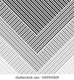 Abstract striped geometric pattern