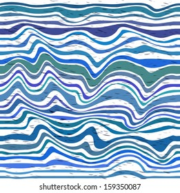 Abstract striped pattern