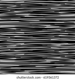 Abstract striped seamless pattern. Melange. Modern abstract horizontal  background with lines. Vector illustration.