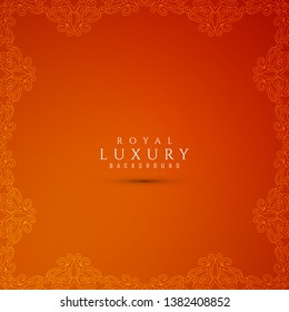 Abstract stylish luxury red background