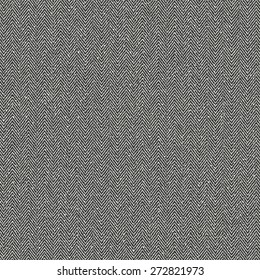 Abstract subtle mottled herringbone fabric textured background. Seamless pattern. Vector.
