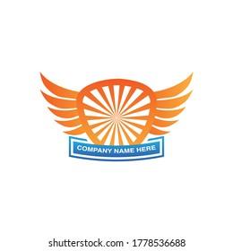Abstract Sun King Logo Design