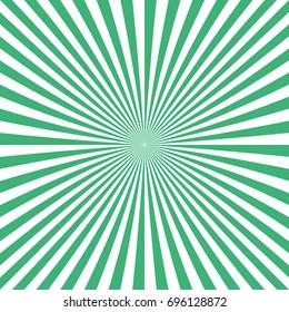 Abstract sunburst background from radial stripes - vector illustration
