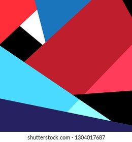 Abstract super multicolored bright background of geometric shapes