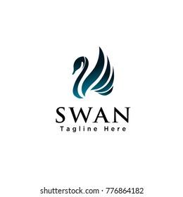 Abstract Swan logo