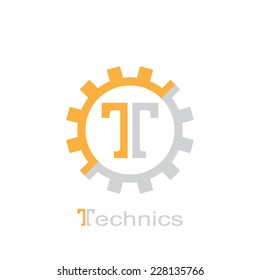abstract symbol of letter t. template logo design. vector eps8
