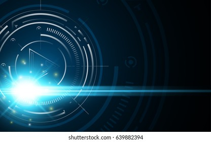 abstract target aiming speed fast design concept hi tech background