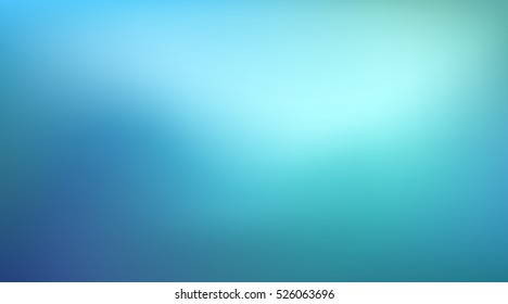 Abstract teal background. Blurred turquoise water backdrop. Vector illustration for your graphic design, banner, summer or aqua poster