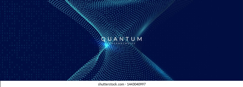 Abstract tech visuals. Digital technology background. Artificial intelligence, deep learning and big data concept for software template. Cyber abstract tech visuals backdrop.