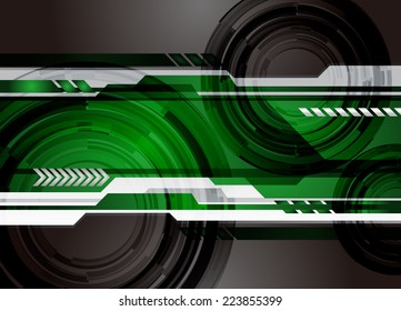 Abstract Technology background for computer graphic website internet and technology. Light. green.