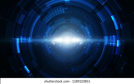 Abstract technology background Hitech communication concept innovation background, vector illustration