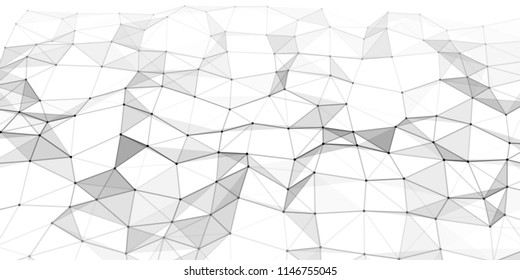 Abstract technology background. Science background. Big data. Graphic abstract background. Vector illustration