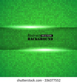 Abstract Technology Background, vector illustration