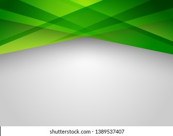 Abstract technology geometric green color shiny motion background. Template with header and footers for brochure, print, ad, magazine, poster, website, magazine, leaflet, annual report. Vector