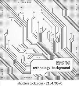 abstract technology hi-tech background