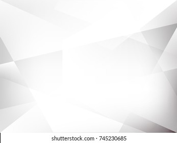 Abstract technology polygonal concept grey geometric digital futuristic future technology with copy space hi tech background design.Vector illustration.