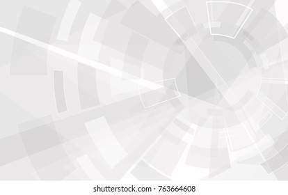 Abstract technology style background. Elegant gray backdrop for web site, tech presentations, cover template and wallpaper. Useful for engineering design solutions, banner and surface