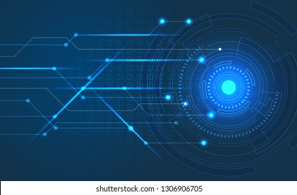 abstract technology . vector background