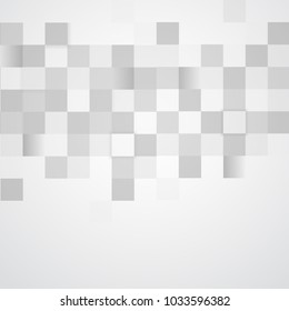 Abstract Template with Overlapping Squares Clean Minimal Style. Modern Graphic. Design Elements. Vector illustration