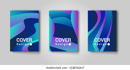 Abstract texture, color gradient pattern background. Vector geometric line wave, modern trend simple minimal geometric pattern background design